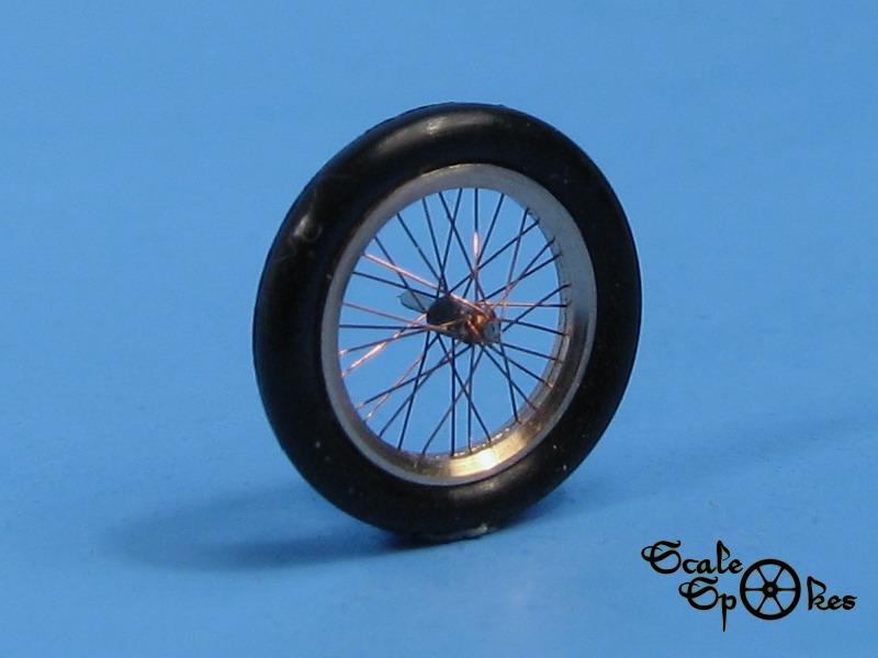 Fokker D Vii Spoke Wheels 1 72 Scale Spokes